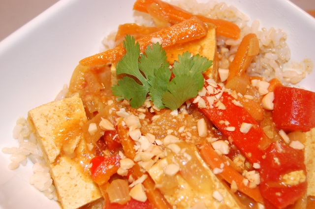Tofu Coconut Curry |