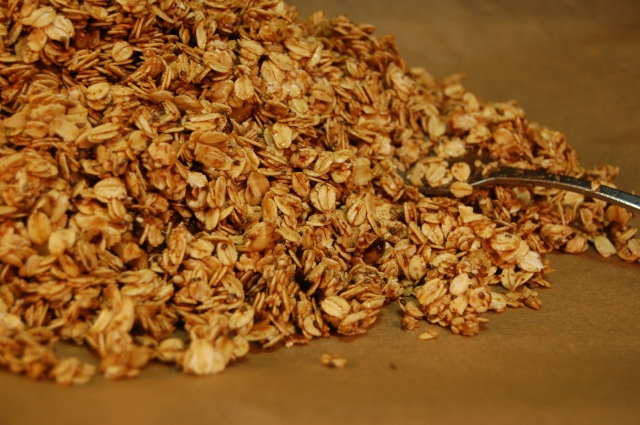 Nutty and Seedy Granola Recipe with Chia, Flax, Sesame, Walnuts