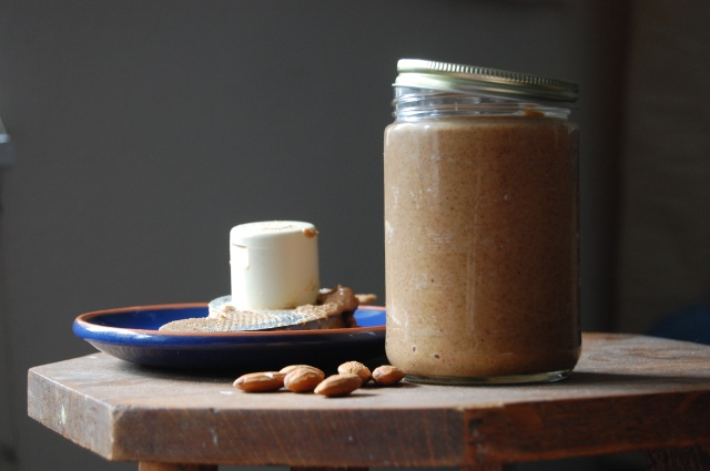 Maple Almond Butter in the Food Processor