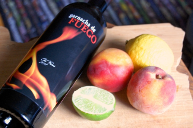 Granacha Wine Sangria with Peach