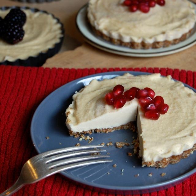 Cashew Cheesecake Tart